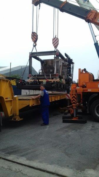 Transporte de cargas superpesadas