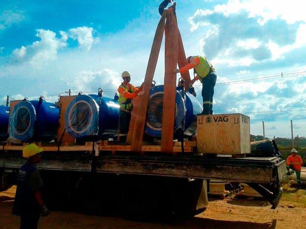 Transporte de cargas pesadas sp